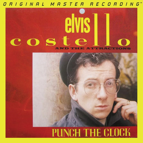 Elvis Costello - Punch the Clock on Numbered Limited Edition 180g LP from Mobile Fidelity - direct audio