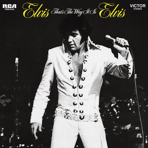 Elvis Presley - That's The Way It Is on Limited Edition 180g LP - direct audio