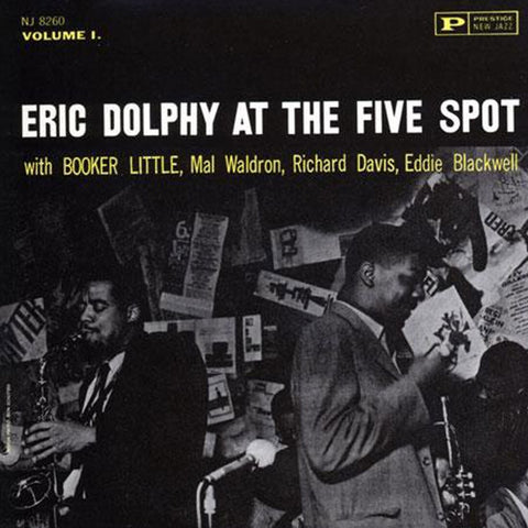 Eric Dolphy - At The Five Spot on Hybrid SACD TBA Pre-order - direct audio
