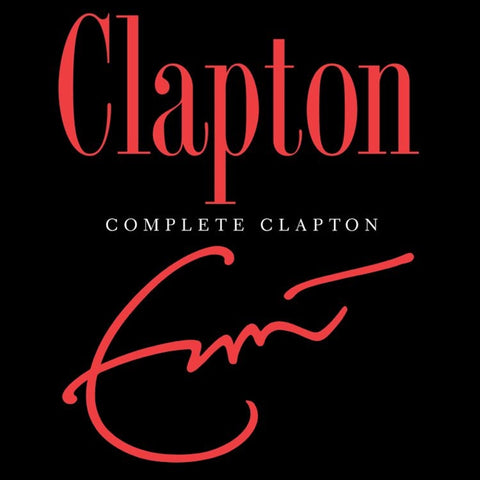 Eric Clapton - Complete Clapton: 1969-2006 on 180g 4LP Box Set - direct audio
