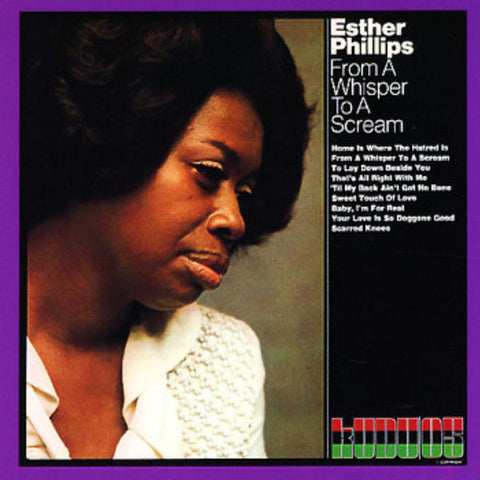 Esther Phillips - From A Whisper To A Scream 180g Import Vinyl LP - direct audio