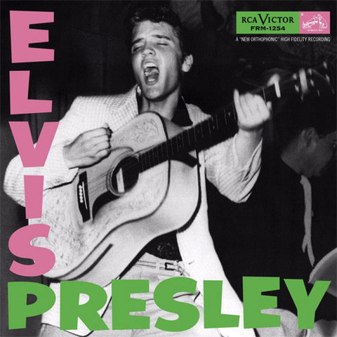 Elvis Presley - Elvis Presley Limited Edition Colored 180g Vinyl LP - direct audio