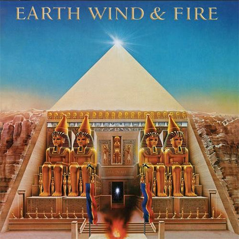 Earth, Wind & Fire All N All Numbered Limited Edition Colored 180g Import Vinyl LP