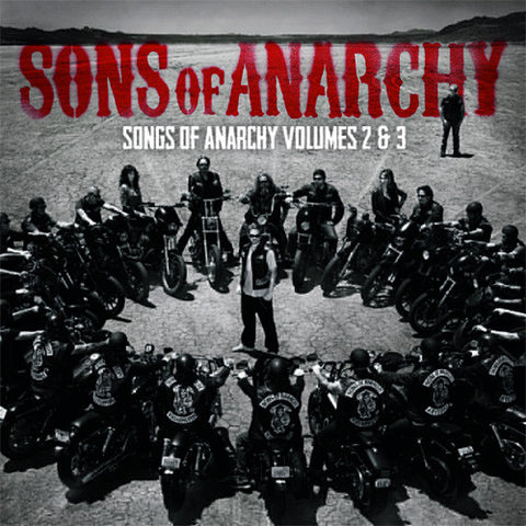 Sons of Anarchy: Songs of Anarchy Vol. 2 & 3, Seasons 5-6 Colored 180g Vinyl 2LP (Out Of Stock) Pre-order - direct audio