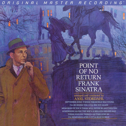 Frank Sinatra - Point of No Return on Numbered Limited Edition 180g stereo LP from Mobile Fidelity - direct audio