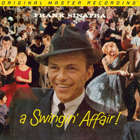 Frank Sinatra - A Swingin' Affair! on Numbered Limited Edition Hybrid Mono SACD from Mobile Fidelity - direct audio
