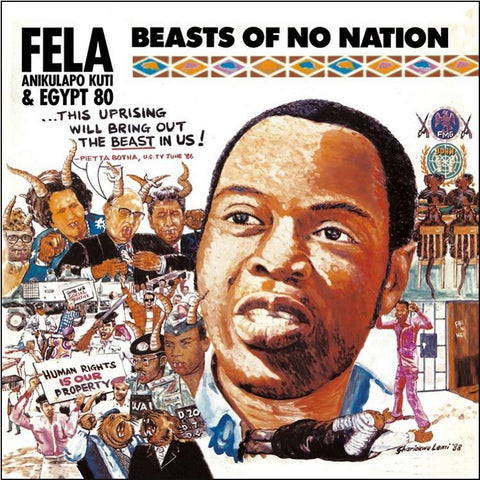 Fela Kuti - Beasts Of No Nation Colored Vinyl LP (Out Of Stock) - direct audio