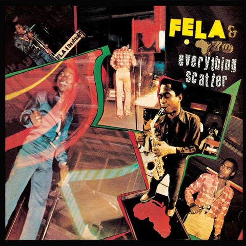 Fela Kuti - Everything Scatter Colored Vinyl LP (Out Of Stock) - direct audio