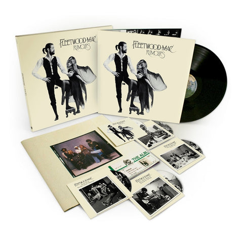 Fleetwood Mac - Rumours: Deluxe Edition Limited Edition 4CD + DVD + LP - direct audio
