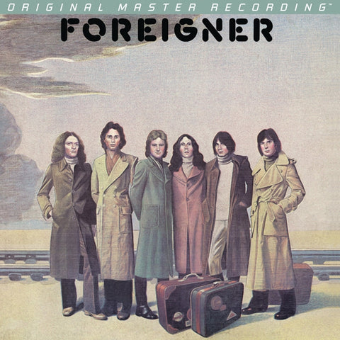 Foreigner - Foreigner on Numbered Limited-Edition 180g LP from Mobile Fidelity - direct audio