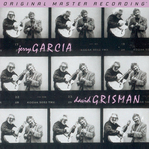 Jerry Garcia and David Grisman - Garcia/Grisman on Numbered Limited Edition Hybrid SACD from Mobile Fidelity - direct audio