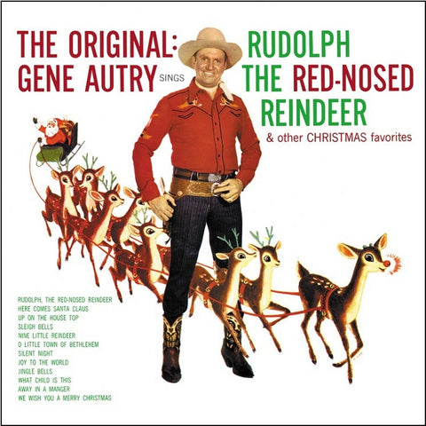 Gene Autry - Sings Rudolph The Red Nosed Reindeer And Other Christmas Favorites on Limited Edition Colored 180g LP - direct audio