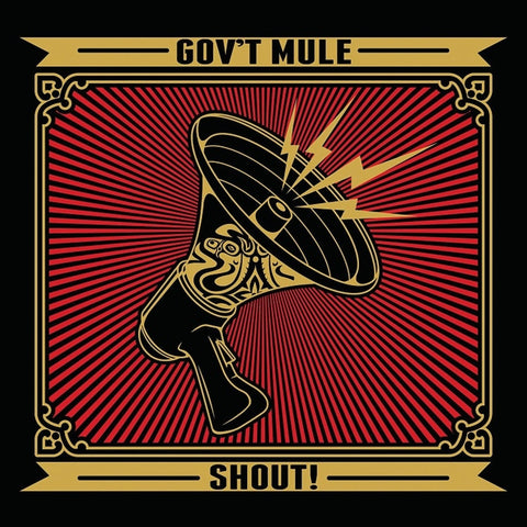 Gov't Mule - Shout! on 2LP - direct audio