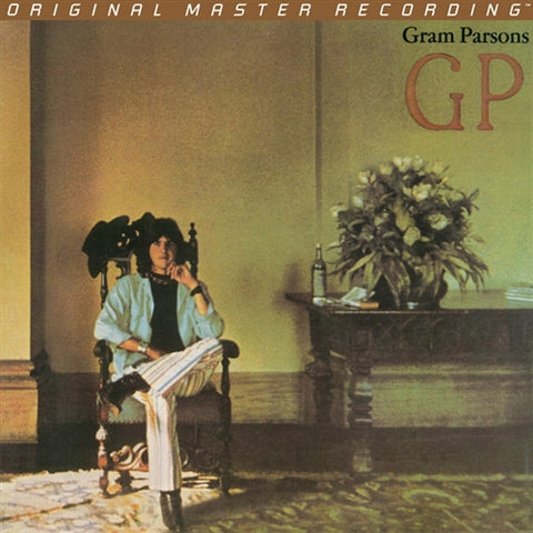 Gram Parsons - GP on Numbered Limited Edition Hybrid SACD from Mobile Fidelity - direct audio