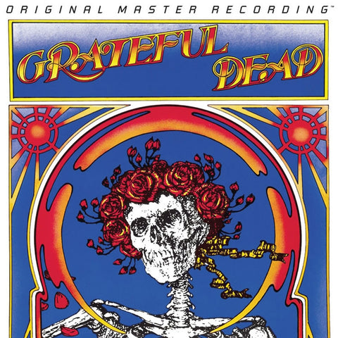Grateful Dead - Skull & Roses on Numbered Limited Edition 180g 2LP Set from Mobile Fidelity - direct audio