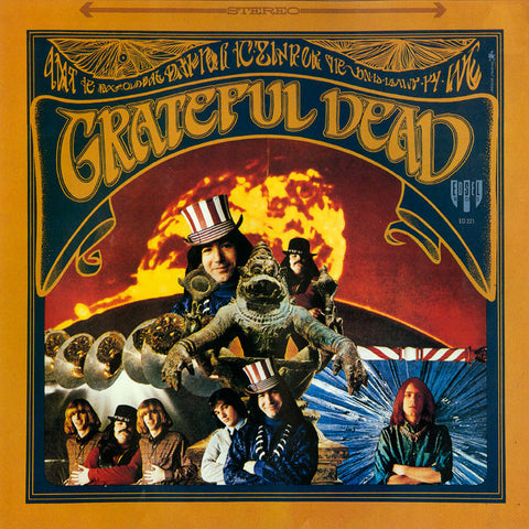 Grateful Dead - The Grateful Dead on 180g LP - direct audio