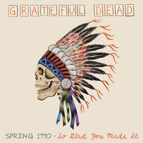 Grateful Dead - Spring 1990: So Glad You Made It on Limited Edition 180g 4LP Box Set - direct audio