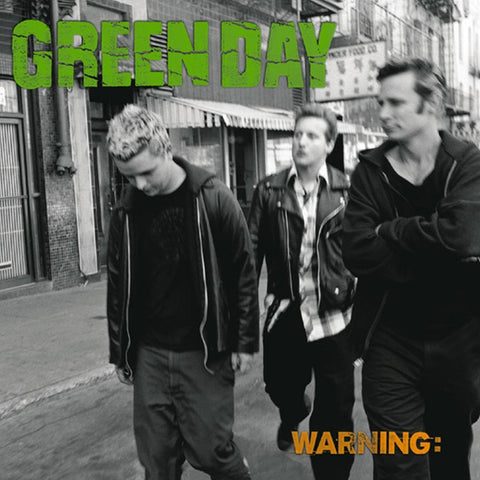 Green Day - Warning on LP - direct audio