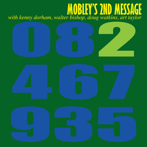 Hank Mobley - Mobley's 2nd Message on 200g Mono LP (Out Of Stock) Pre-order - direct audio