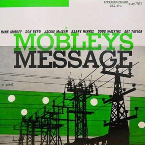 Hank Mobley - Mobley's Message on Hybrid Mono SACD - direct audio