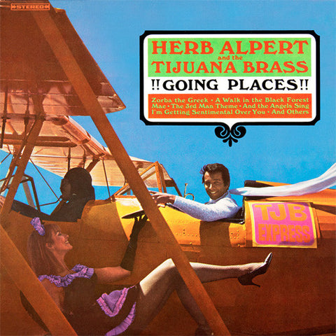 Herb Alpert and The Tijuana Brass - Going Places!! 180g Vinyl LP + Download - direct audio