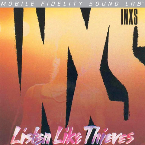 INXS - Listen Like Thieves on Numbered Limited Edition LP from Mobile Fidelity Silver Label - direct audio