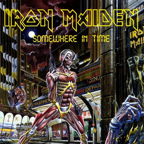 Iron Maiden - Somewhere In Time on 180g LP - direct audio