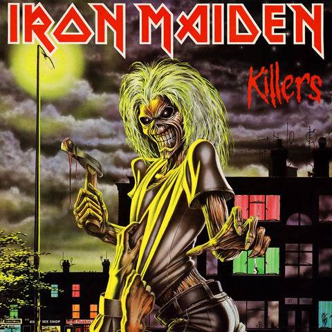 Iron Maiden - Killers 180g Vinyl LP - direct audio