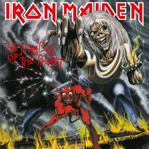 Iron Maiden - The Number of the Beast 180g LP - direct audio