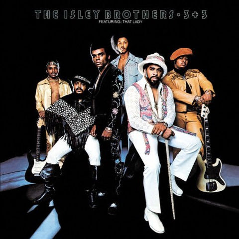 The Isley Brothers - 3 + 3 on Limited Edition Colored 180g Vinyl LP - direct audio