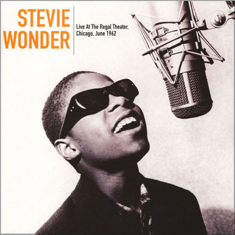 Stevie Wonder - Live At The Regal Theater Chicago, June 1962 Vinyl LP - direct audio