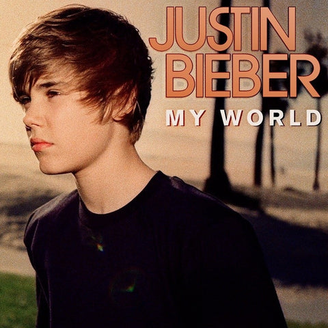 Justin Bieber - My World EP on LP - direct audio
