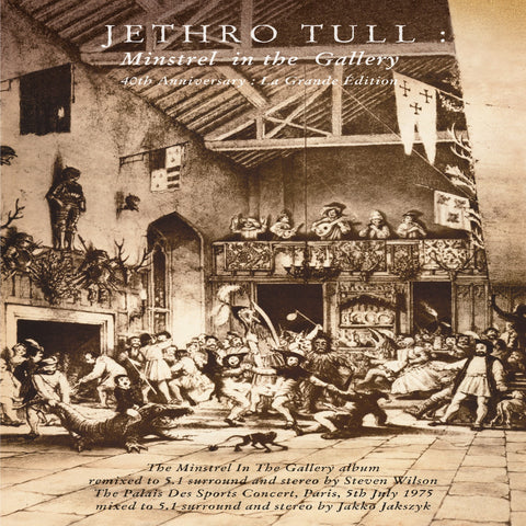 Jethro Tull - Minstrel In The Gallery: 40th Anniversary La Grande Edition 180g Vinyl LP (Out Of Stock) - direct audio