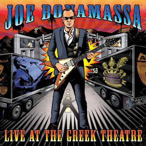 Joe Bonamassa - Live At the Greek Theatre 180g Vinyl 4LP - direct audio