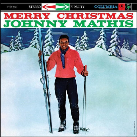 Johnny Mathis - Merry Christmas Colored 180g Vinyl LP - direct audio