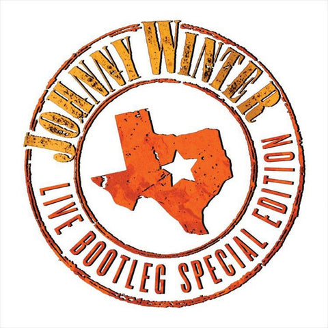 Johnny Winter - Live Bootleg Special Edition Limited Edition Colored 180g Vinyl LP - direct audio