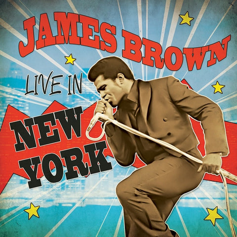 James Brown - Live in New York on Limited Edition Colored LP - direct audio