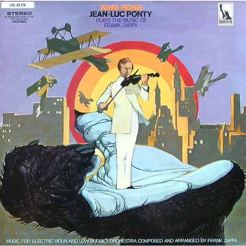 Jean-Luc Ponty - King Kong: Jean-Luc Ponty Plays The Music Of Frank Zappa on 180g LP - direct audio