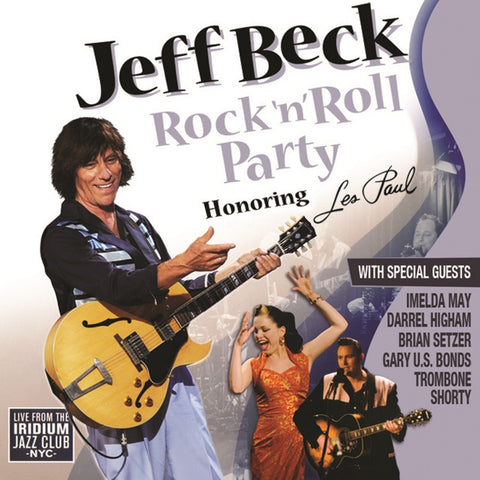 Jeff Beck - Rock 'N' Roll Party: Honoring Les Paul on Limited Edition 180g 2LP - direct audio