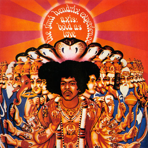 The Jimi Hendrix Experience - Axis: Bold As Love Limited Edition 200g Vinyl LP (Mono) - direct audio