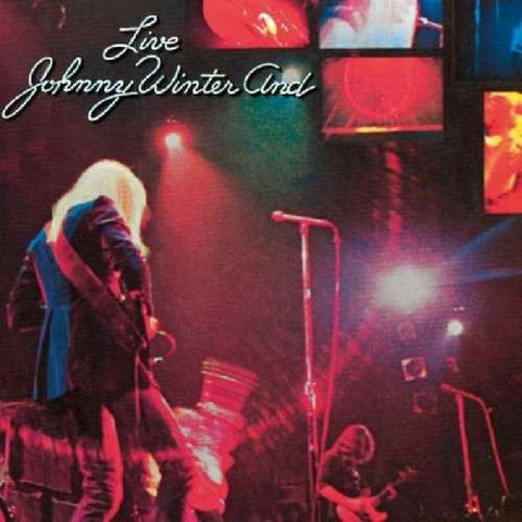 Johnny Winter - Johnny Winter And Live Limited Edition 180g Vinyl LP (Awaiting Repress) - direct audio