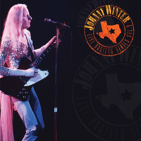 Johnny Winter - Live Bootleg Series Volume 9 on Limited Edition 180g Colored LP - direct audio
