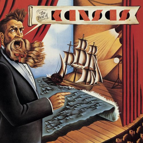 Kansas - The Best Of Kansas on Limited Edition 180g LP - direct audio - 1
