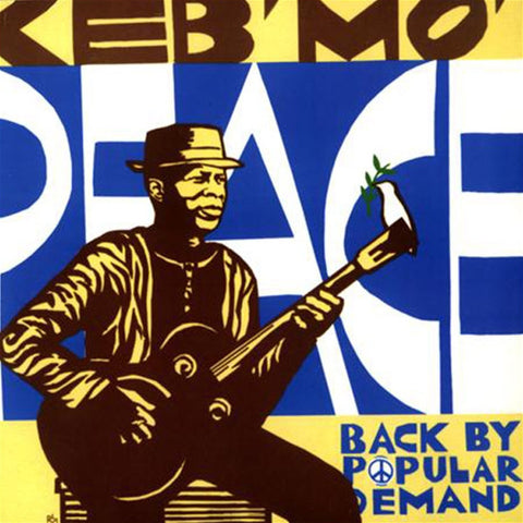 Keb' Mo' - Peace...Back By Popular Demand On 180g Import LP - direct audio