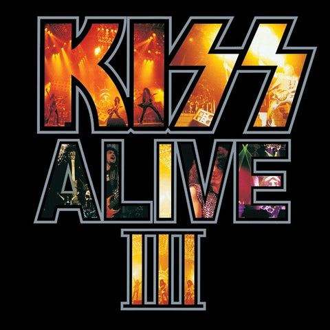 Kiss - Alive III on 180g 2LP - direct audio