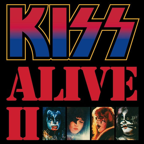 Kiss - Alive II on 180g 2LP - direct audio