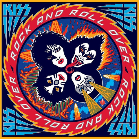Kiss - Rock And Roll Over on 180g LP - direct audio