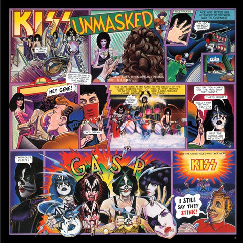 Kiss - Unmasked on 180g LP - direct audio