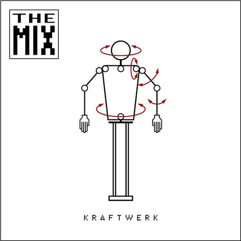 Kraftwerk - The Mix Import Vinyl 2LP (Awaiting Repress) - direct audio
