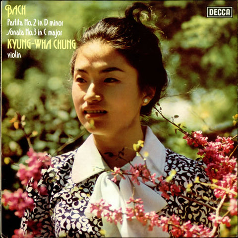 Kyung-Wha Chung - Bach Partita & Sonata 180g Import Vinyl LP TBA - direct audio